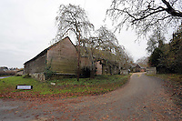 Pictured: Exterior view of the Sidney Nolan Trust Friday 02 December 2016<br /> The Sidney Nolan Trust, Rodd, Herefordshire, England, UK