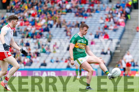 Tom O'Sullivan, Kerry during the All Ireland Senior Football Semi Final between Kerry and Tyrone at Croke Park, Dublin on Sunday.
