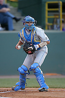 June 5, 2010: Steve Rodriguez of UCLA during NCAA Regional game against LSU at Jackie Robinson Stadium in Los Angeles,CA.  Photo by Larry Goren/Four Seam Images