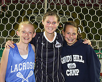 Jill Gilbeau #3 of the Washington Freedom with fans during a WPS match against the Chicago Red Stars at the Maryland Soccerplex, in Boyds Maryland on June 12 2010. The game ended in a 2-2 tie.