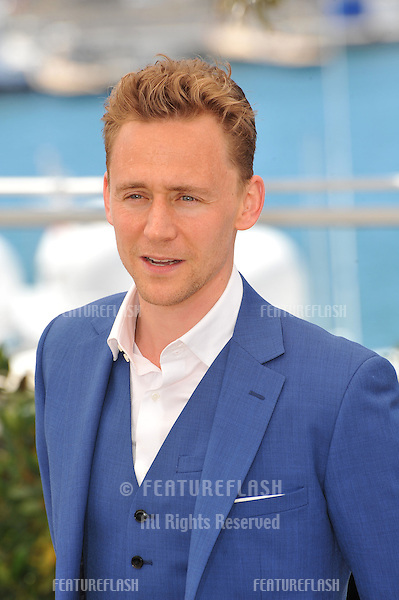 "Tom Hiddleston at photocall at the 66th Festival de Cannes for his movie ""Only Lovers Left Alive""..May 25, 2013  Cannes, France.Picture: Paul Smith / Featureflash"