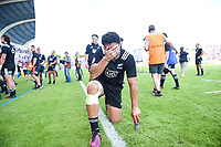 Caleb Clarke of New Zealand looks dejected after defeat during the World Championship U20 3rd place match between South Africa and New Zealand on June 17, 2018 in Beziers, France. (Photo by Alexandre Dimou/Icon Sport)