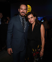 "SANTA MONICA - JANUARY 10: Mark-Paul Gosselaar and Executive Producer Liz Heldens attend the red carpet premiere party for FOX's ""The Passage"" at The Broad Stage on January 10, 2019, in Santa Monica, California. (Photo by Frank Micelotta/Fox/PictureGroup)"