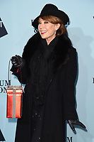 Kathy Lette<br /> arriving for the Skate at Somerset House 2017 opening, London<br /> <br /> <br /> ©Ash Knotek  D3351  14/11/2017