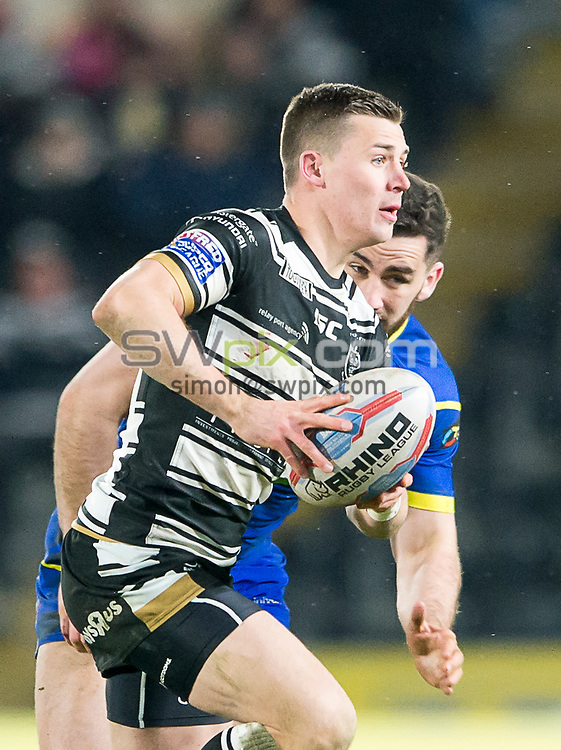 Picture by Allan McKenzie/SWpix.com - 02/03/2018 - Rugby League - Betfred Super League - Hull FC v Warrington Wolves - KC Stadium, Kingston upon Hull, England - Jamie Shaul.