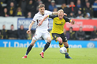 \nw4\ in action with Burton Albion's Liam Boyce<br /> <br /> Photographer Mick Walker/CameraSport<br /> <br /> The EFL Sky Bet Championship - Burton Albion v Bolton Wanderers - Saturday 28th April 2018 - Pirelli Stadium - Burton upon Trent<br /> <br /> World Copyright &copy; 2018 CameraSport. All rights reserved. 43 Linden Ave. Countesthorpe. Leicester. England. LE8 5PG - Tel: +44 (0) 116 277 4147 - admin@camerasport.com - www.camerasport.com