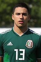 Jorge Eduardo Sanchez Ramos of Mexico U21's during Mexico Under-21 vs Turkey Under-21, Tournoi Maurice Revello Football at Stade de Lattre-de-Tassigny on 6th June 2018