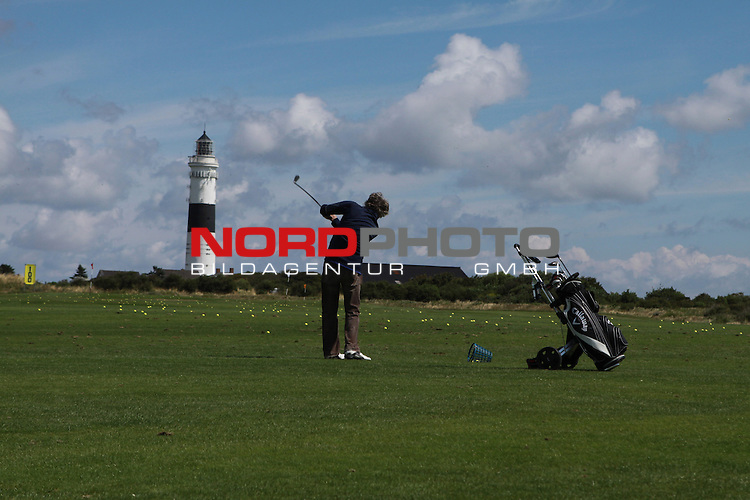 08.08.2013, Nordseeinsel Sylt, GER, im Bild Golfen in Kampen, Foto © nph / Kohring