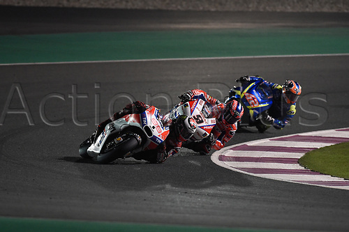 March 26th 2017, Doha, Qatar; MotoGP Grand Prix Qatar; Jorge Lorenzo (Ducati)
