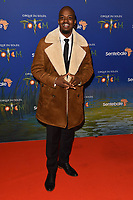 George the Poet<br /> arriving for the Cirque du Soleil Premiere of TOTEM at the Royal Albert Hall, London<br /> <br /> ©Ash Knotek  D3471  16/01/2019