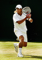 24-06-2004, London, tennis, Wimbledon, Verdasco