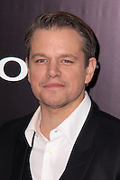 "NEW YORK, NY - FEBRUARY 04: Matt Damon at the New York Premiere Of Columbia Pictures' ""The Monuments Men"" held at Ziegfeld Theater on February 4, 2014 in New York City, New York. (Photo by Jeffery Duran/Celebrity Monitor)"