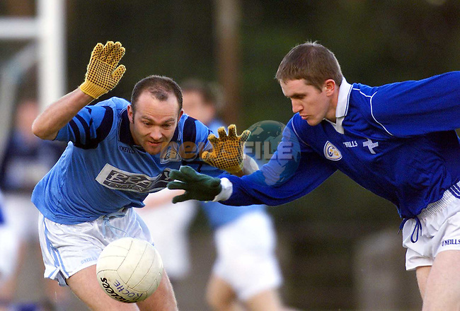 Action from Newtown Blues V Roche Emmets in Castlebellingham on Sunday..Picture: Paul Mohan Newsfile