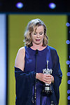 British actress Emily Watson receives the 2015 Donostia Award during the official ceremony at 63rd Donostia Zinemaldia (San Sebastian International Film Festival) in San Sebastian, Spain. September 25, 2015. (ALTERPHOTOS/Victor Blanco)