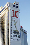 Poster of  the 38th Annual Daytime Entertainment Emmy Awards 2011 held on June 19, 2011 at the Las Vegas Hilton, Las Vegas, Nevada. (Photo by Sue Coflin/Max Photos)