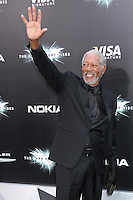 NEW YORK, NY - JULY 16:  Morgan Freeman at 'The Dark Knight Rises' premiere at AMC Lincoln Square Theater on July 16, 2012 in New York City.  © RW/MediaPunch Inc.