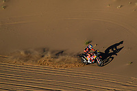 5th January 2020, Jeddah, Saudi Arabia;  03 Sunderland Sam gbr, KTM, Red Bull KTM Factory Team during Stage 1 of the Dakar 2020 between Jeddah and Al Wajh, 752 km - Editorial Use