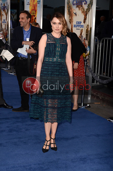 """Clare Grant<br /> at the """"Chips"""" Los Angeles Premiere, TCL Chinese Theater, Hollywood, CA 03-20-17<br /> David Edwards/DailyCeleb.com 818-249-4998"""