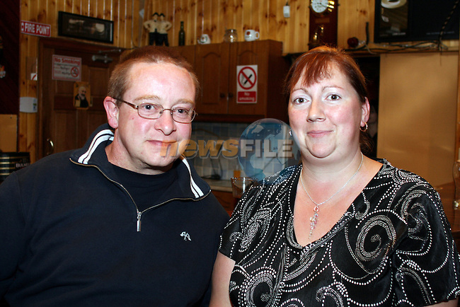 Thomas and Shani Lynch at the Duleek Senior Citizen Outing Committee Annual Auction in the Greyhound Pub, Duleek...Photo NEWSFILE/Jenny Matthews.(Photo credit should read Jenny Matthews/NEWSFILE)....This Picture has been sent you under the condtions enclosed by:.Newsfile Ltd..The Studio,.Millmount Abbey,.Drogheda,.Co Meath..Ireland..Tel: +353(0)41-9871240.Fax: +353(0)41-9871260.GSM: +353(0)86-2500958.email: pictures@newsfile.ie.www.newsfile.ie.FTP: 193.120.102.198.