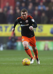 Sheffield United's John Fleck in action during the League One match at the Valley Stadium, London. Picture date: November 26th, 2016. Pic David Klein/Sportimage