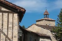 Europe/France/Midi-Pyrénées/32/Gers/Fources:  Les toits de la Bastide