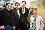 James Carroll with Alison, Mark and Joy Rutherford as Taoiseach Brian Cowen visits Drogheda to open the Office of Senator James Carroll...Photo NEWSFILE/Jenny Matthews.(Photo credit should read Jenny Matthews/NEWSFILE)....This Picture has been sent you under the condtions enclosed by:.Newsfile Ltd..The Studio,.Millmount Abbey,.Drogheda,.Co Meath..Ireland..Tel: +353(0)41-9871240.Fax: +353(0)41-9871260.GSM: +353(0)86-2500958.email: pictures@newsfile.ie.www.newsfile.ie.FTP: 193.120.102.198.