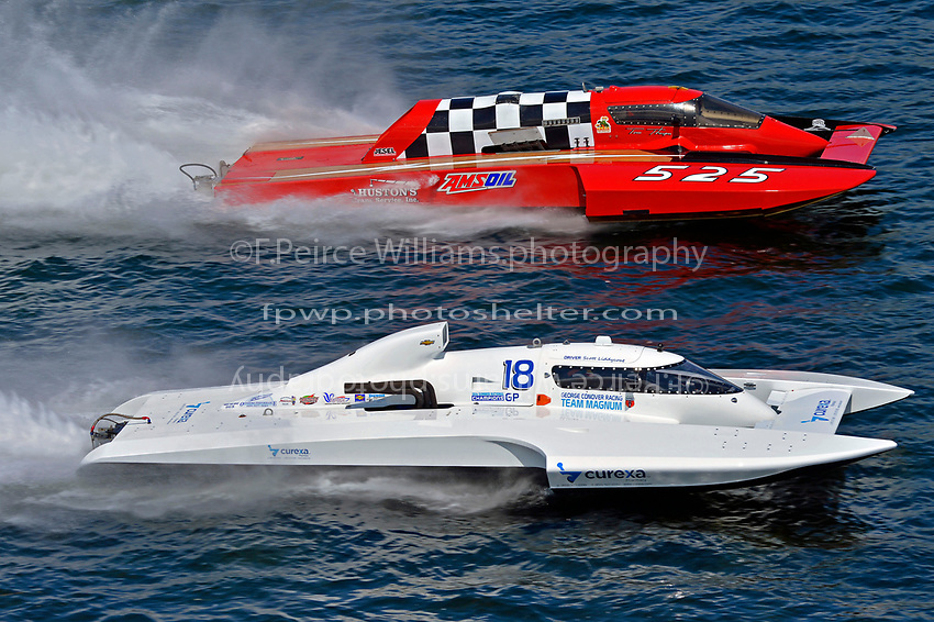 "Scott Liddycoat, GP-18, Tom Thompson, GP-525 ""Fat Chance""  (Grand Prix Hydroplane(s)"