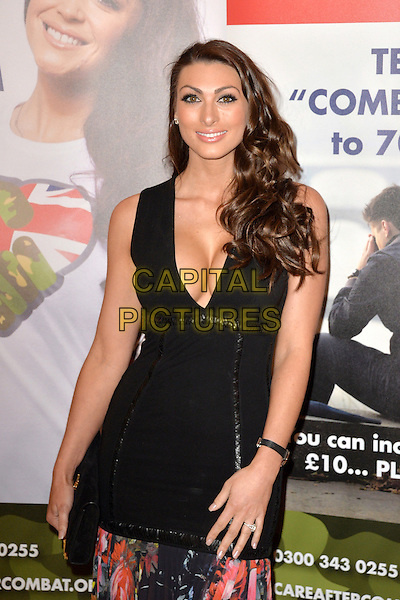LONDON, ENGLAND Luisa Zissman at the Care After Combat Inaugural Ball at The Dorchester Hotel, Park Lane,  on the 31st March 2015 in LONDON, ENGLAND<br /> CAP/ROS<br /> &copy;Steve Ross/Capital Pictures