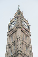 Big Ben (Elizabeth Tower), Houses of Parliament, Westminster, London, England