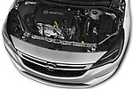 Car stock 2017 Opel Astra Sports Tourer Edition 5 Door Wagon engine high angle detail view