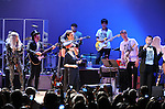 Sean Lennon,Yoko Ono,Perry Farrell and Lady Gaga perform at We are Plastic Ono Band on night 2 at The Orpheum Theatre in Downtown Los Angeles, California on October 02,2010                                                                   Copyright 2010  Debbie VanStory / RockinExposures