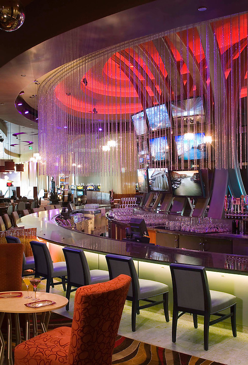 Carrier Johnson Architects designed the Viejas Casino in 2006. The look and feel is every bit as flashy as any casino in Nevada from the custom Ulster Carpets to the fantastic chandeliers.