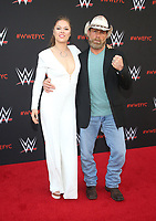 NORTH HOLLYWOOD, CA - JUNE 6: Ronda Rousey, Shawn Michaels,  WWE's First-Ever Emmy &quot;For Your Consideration&quot; Event at The Saban Media Center in North Hollywood, California on June 6, 2018. <br /> CAP/MPIFS<br /> &copy;MPIFS/Capital Pictures