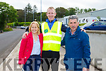 Mary O'Connor, Liam Hassett and Cllr Michael O'Shea at the Stephanie O'Sullivan Memorial Cycle in Milltown on Sunday morning