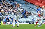 David Templeton blasts in the opener for Rangers