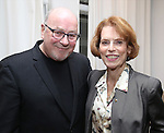 Donald Loftus and Susan Laubach during The DGF's 14th Biannual Madge Evans & Sidney Kingsley Awards at the Dramatists Guild Fund headquarters on April 4, 2016 in New York City.