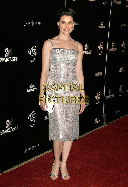 RENA SOFER.2007 Costume Designers Guild Awards held at the Beverly Wilshire Hotel, Beverly Hills, California, USA,.17 February 2007..full length silver dress.CAP/ADM/RE.©Russ Elliot/AdMedia/Capital Pictures.