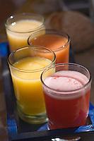 """Afrique/Afrique du Nord/Maroc /Casablanca: Cocktail de fruits frais à """"La Scala"""" Restaurant d'Eric Arnoux La Scala Bd des Almohades"""