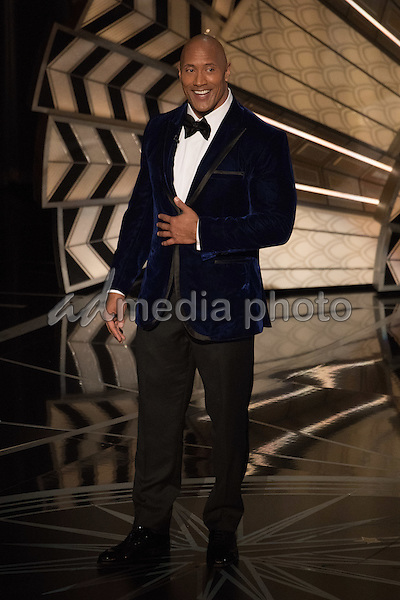 26 February 2017 - Hollywood, California - Dwayne Johnson. 89th Annual Academy Awards presented by the Academy of Motion Picture Arts and Sciences held at Hollywood & Highland Center. Photo Credit: AMPAS/AdMedia