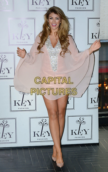 LONDON, ENGLAND - NOVEMBER 04: Key Fashion announces British Model Amy Willerton as the seasons new face for their Autumn Winter 2014 Collection at Chotto Matte, on November 04, 2014 in London, England. <br /> CAP/JOR<br /> &copy;Nils Jorgensen/Capital Pictures