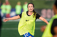 Boston, MA - Sunday September 10, 2017: Allysha Chapman during a regular season National Women's Soccer League (NWSL) match between the Boston Breakers and Portland Thorns FC at Jordan Field.