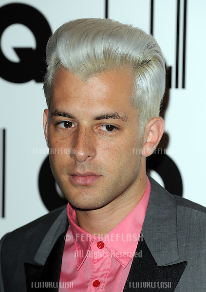 Mark Ronson at the GQ Men of the Year Awards at the Royal Opera House, London..September  08, 2010 London, United Kingdom.Picture: Gerry Copper / Featureflash..