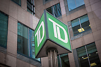 TD Canada Trust logo is pictured in Ottawa Tuesday November 18, 2014. TD Canada Trust is the personal, small business and commercial banking operation of the Toronto-Dominion Bank (TD) in Canada.