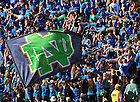 Sept. 17, 2011; The student section celebrates an Irish touchdown against Michigan State...Photo by Matt Cashore