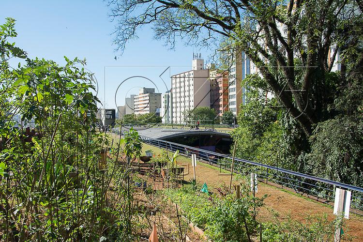 Jardim Suspenso no Centro Cultural São Paulo, São Paulo - SP, 07/2016.
