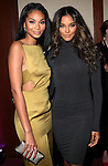 Victoria Secret Model, SI Swimsuit Model and Actress Chanel Iman and IMG Models' Heidy De la Rosa 2015 Sports Illustrated Sportsperson of the Year Awards Celebration Held at Pier Sixty at Chelsea Piers