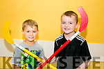 l-r  Kyle O Ferain and Luke Boyle Enjoying the Ogras Summer Camps at Ballyheigue Community Centre on Tuesday