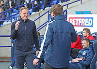 Middlesbrough Manager Gary Monk and Bolton Wanders Manager Phil Parkinson<br /> <br /> Photographer Rachel Holborn/CameraSport<br /> <br /> The EFL Sky Bet Championship - Bolton Wanderers v Middlesbrough - Saturday 9th September 2017 - Macron Stadium - Bolton<br /> <br /> World Copyright &copy; 2017 CameraSport. All rights reserved. 43 Linden Ave. Countesthorpe. Leicester. England. LE8 5PG - Tel: +44 (0) 116 277 4147 - admin@camerasport.com - www.camerasport.com