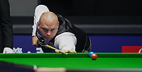 31st October 2019, Yushan, Jiangxi Province, China; Stuart Bingham of England competes during the round of 16 match against his compatriot Mark Selby at 2019 Snooker World Open in Yushan