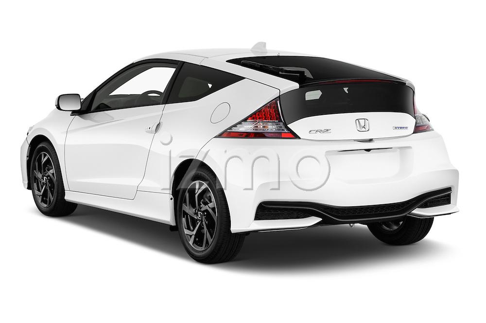 Car pictures of rear three quarter view of 2016 Honda CRZ EX 3 Door Hatchback Angular Rear